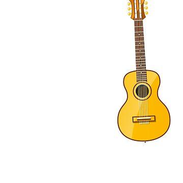 Just 1 more guitar funny saying shirt guitarist gift mens by worksaheart