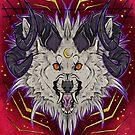 Crescent hellhound  by HidingMonster