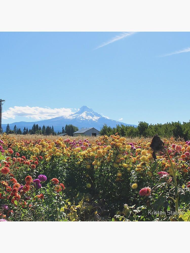 Mount Hood en Draper Girls Country Farm de YugenbyKristen