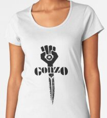 hunter s thompson gonzo sword Women's Premium T-Shirt