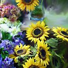 Bunches of Sunshine by Carolyn Staut