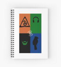 FFC Superheros Spiral Notebook