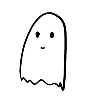 Cute ghost by shivampathare