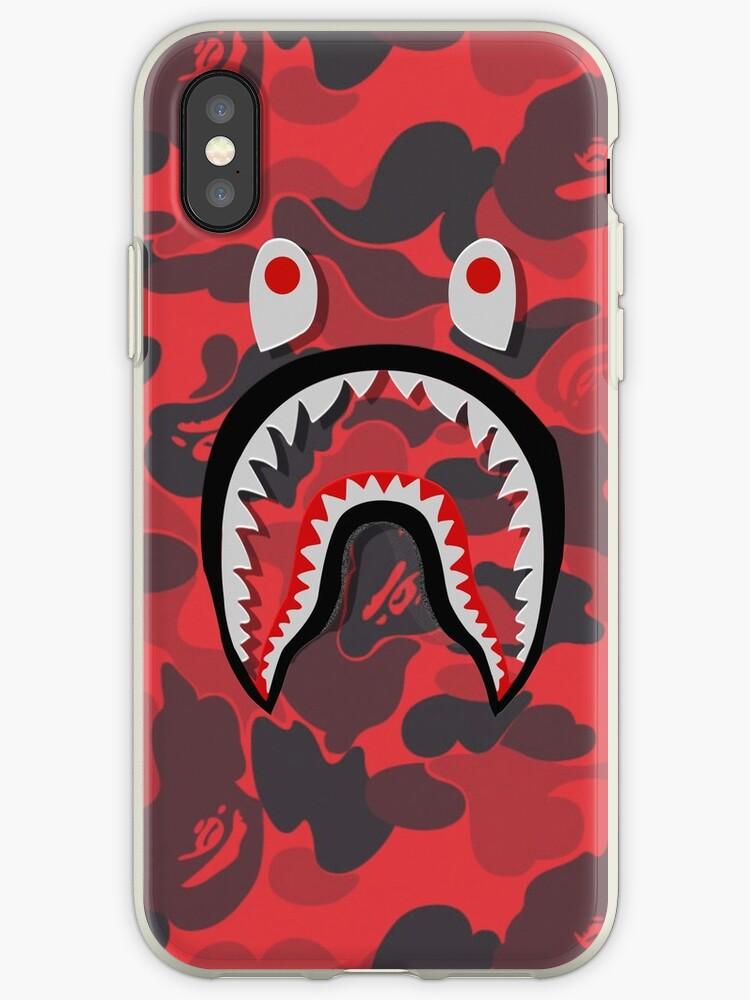 «Tiburón rojo de Bape» de PatriciaRiley