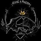 Hidingmonster cat skull by HidingMonster