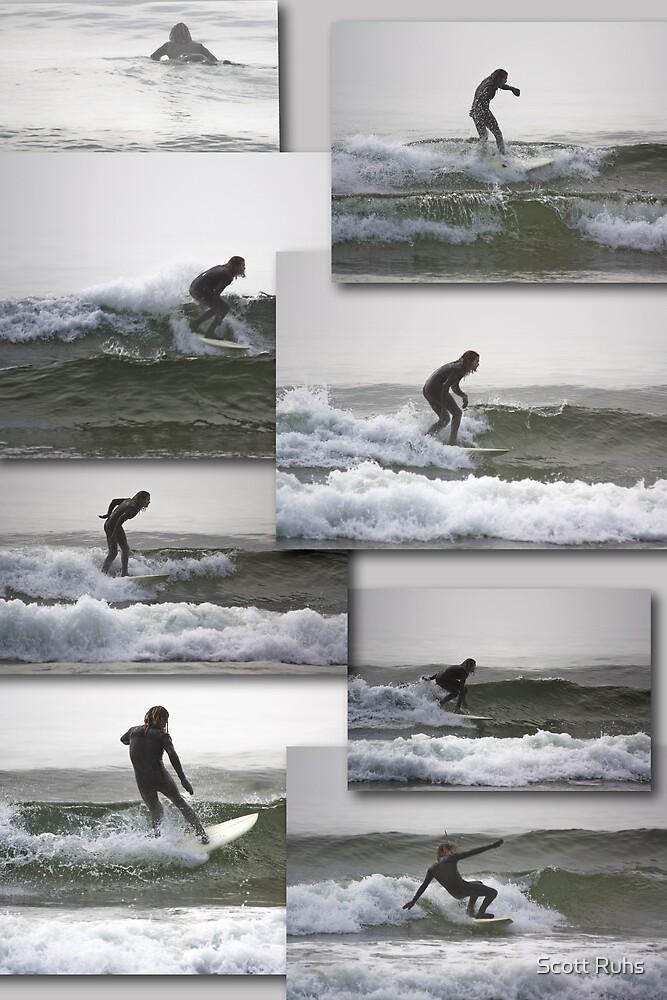 Surfin' by Scott Ruhs