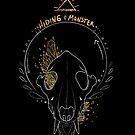 Hidingmonster Wolf Skull by HidingMonster
