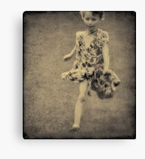 Childhood ... Canvas Print