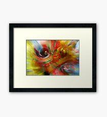 The Dragon Dancer Framed Print