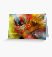 The Dragon Dancer Greeting Card