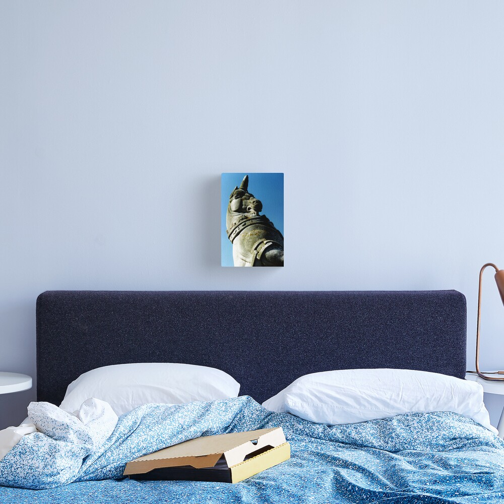 Unicorn at Kew Canvas Print