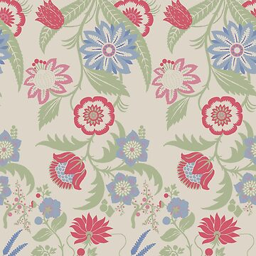 Original Floral Pattern  by justrachna