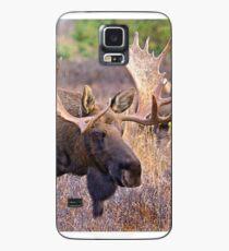 Bull Moose, Full Rack, Alaska Case/Skin for Samsung Galaxy