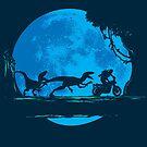 Jurassic Moonwalk by Daletheskater