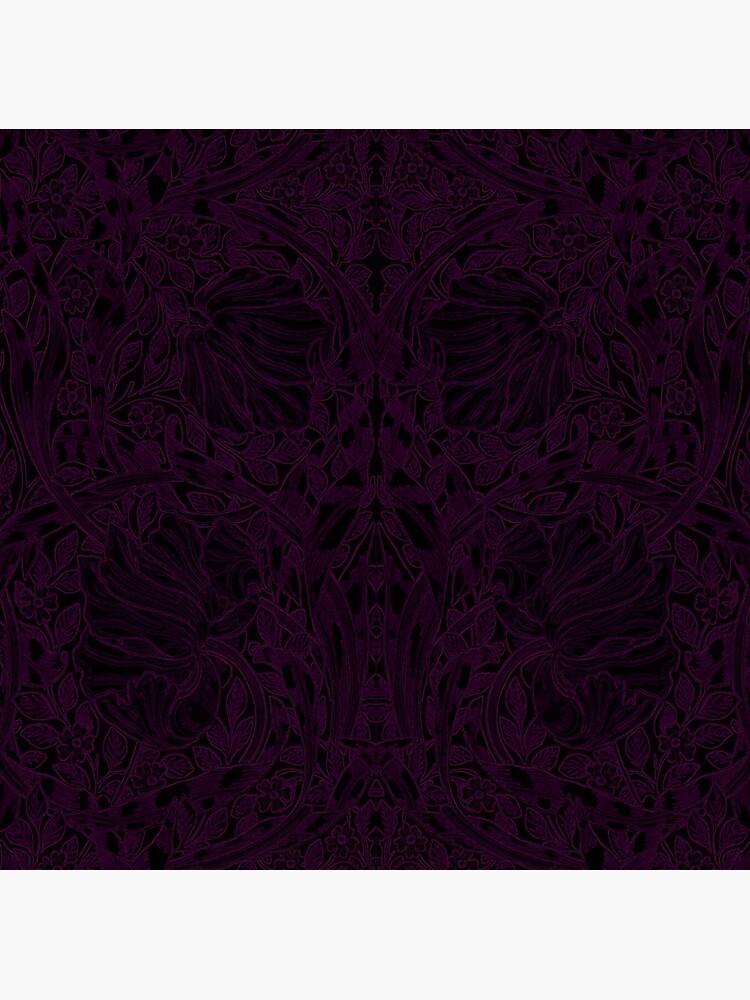 Dark Tapestry - Glowing Eggplant by Etakeh
