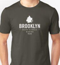 Brooklyn Born and Bred Unisex T-Shirt