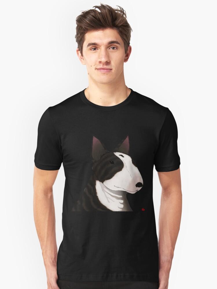 ENGLISH BULL-TERRIER Unisex T-Shirt Front
