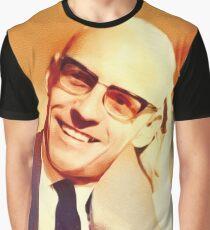 Michel Foucault, Literary Legend Graphic T-Shirt