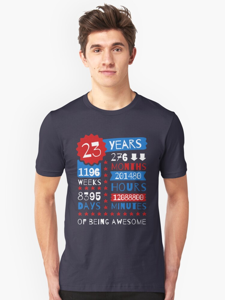 23 Years Of Being Awesome