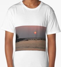 2 toned sun Long T-Shirt