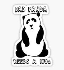 Sad Panda Needs A Hug Sticker