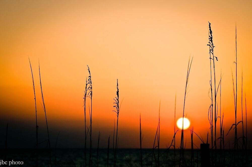 Sunset over the Gulf by Jacki Campany