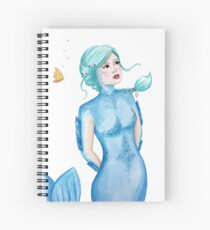 Mermaids and bubbles Spiral Notebook