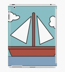 Simpsons Sailboat Painting iPad Case/Skin