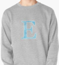Sky Watercolor Ε Pullover Sweatshirt