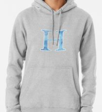Sapphire Watercolor Η Pullover Hoodie
