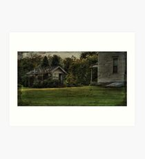 The Weathered Shed Art Print