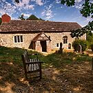 Coombes Church by Dave Godden