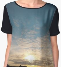 Sunlight, Coney Island Beach, #Sunlight, #Coney, #Island, #Beach, #ConeyIsland, #ConeyIslandBeach Chiffon Top