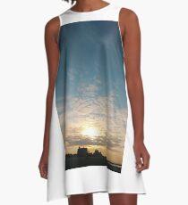Sunlight, Coney Island Beach, #Sunlight, #Coney, #Island, #Beach, #ConeyIsland, #ConeyIslandBeach A-Line Dress