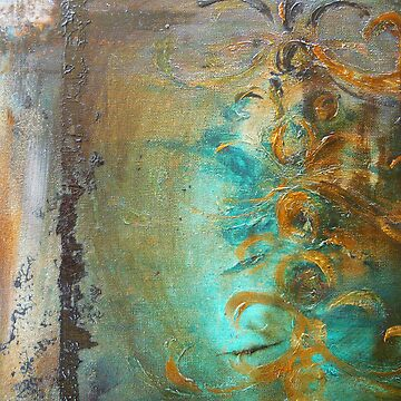 Baroque Dreams - aqua by ChristineBetts