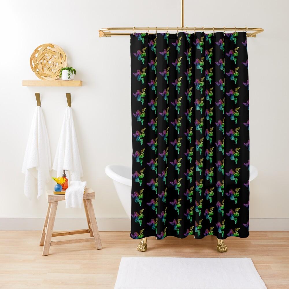 Razer Chroma (Shop) Shower Curtain