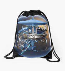 Space Incendia Drawstring Bag
