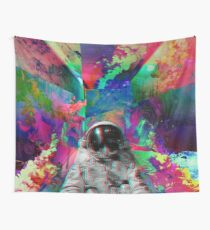 Tripping Space Man Wall Tapestry