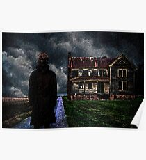 The Visitor Fine Art Print Poster