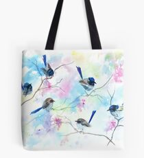 Fairies in the garden  Tote Bag