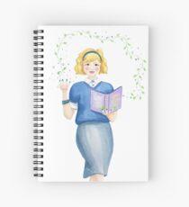 A natural witch Spiral Notebook