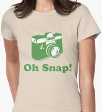 Oh Snap! Women's Fitted T-Shirt