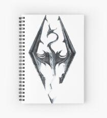 skyrim logo  Spiral Notebook