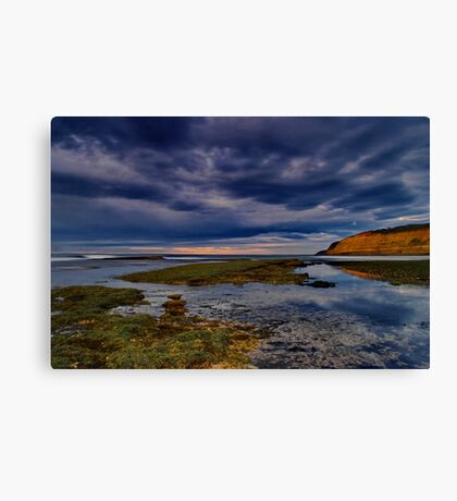 """Tranquility In The Face Of Turbulence"" Canvas Print"