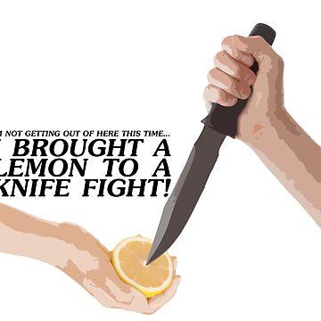 The Wombats // Lemon to a knife fight by DesignedByOli