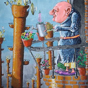 THE GARDENER by RichardBrain