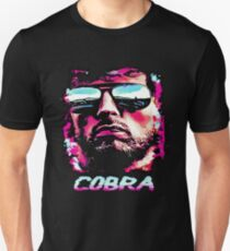 Retro Red Cobra Unisex T-Shirt