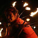 Fire dance 4 by Jeffrey Diamond