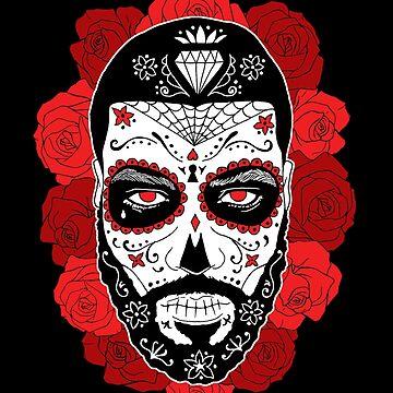 Day of the dead -  Día de Muertos -  by RobskiArt