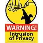 «Signo de peligro de intrusión» de RichSkipworth